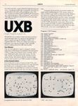 Video Game: UXB