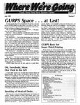 Issue: Where We're Going (Issue 7 - Jul 1988)