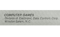 Board Game Publisher: Electronic Data Controls Corporation