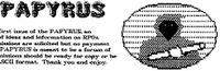 Periodical: Papyrus