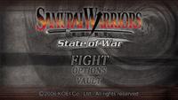 Video Game: Samurai Warriors: State of War