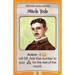 Board Game: Nations: Nicola Tesla promo card