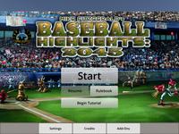 Video Game: Baseball Highlights 2045