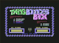Video Game: Thing Bounces Back
