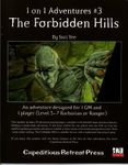 RPG Item: 1 on 1 Adventures #03: The Forbidden Hills
