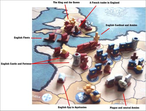 Board Game: Under Cross and Crescent