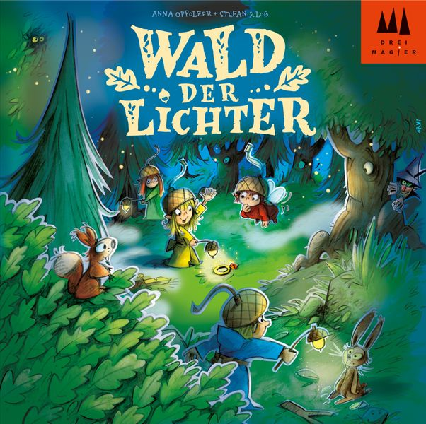 Wald der Lichter, Drei Magier Spiele, 2020 — front cover (image provided by the publisher)