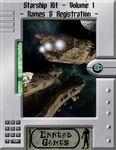 RPG Item: Starship Kit Volume 1: Names & Registration