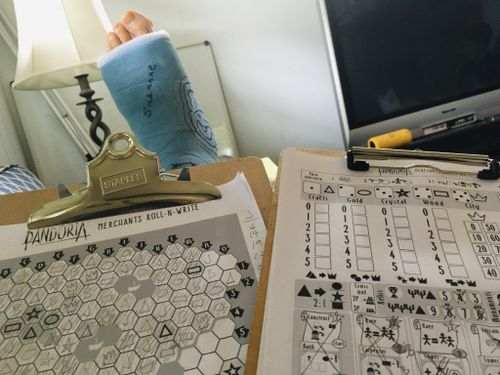 Board Game: Pandoria Merchants