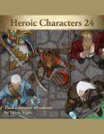 RPG Item: Devin Token Pack 113: Heroic Characters 24