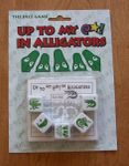 Board Game: Up To My @*! In Alligators