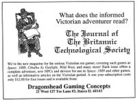 Periodical: Journal of the Britannic Technological Society
