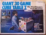 Board Game: Giant 30 Game Cube