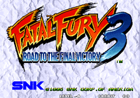 Video Game: Fatal Fury 3: Road to the Final Victory