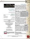 RPG Item: Alchemist Subclass
