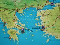 Detail: Aegean Sea