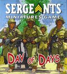 Board Game: Sergeants Miniatures Game: Day of Days