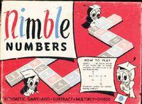Board Game: Nimble Numbers