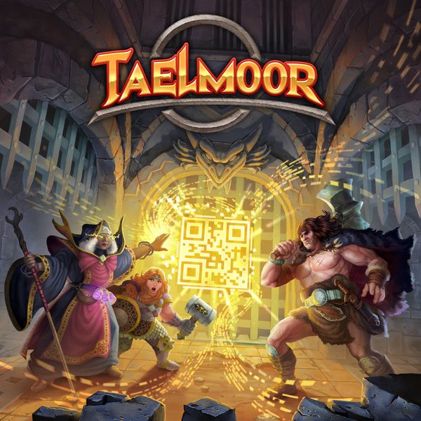 Taelmoor: The Scan and Play Dungeon Crawler Board Game
