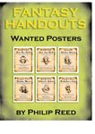 RPG Item: Fantasy Handouts: Wanted Posters
