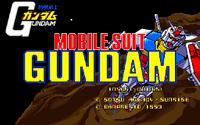 Video Game: Gundam