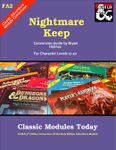 RPG Item: Classic Modules Today FA2: Nightmare Keep