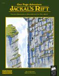 RPG Item: One Page Adventure: Jackal's Rift
