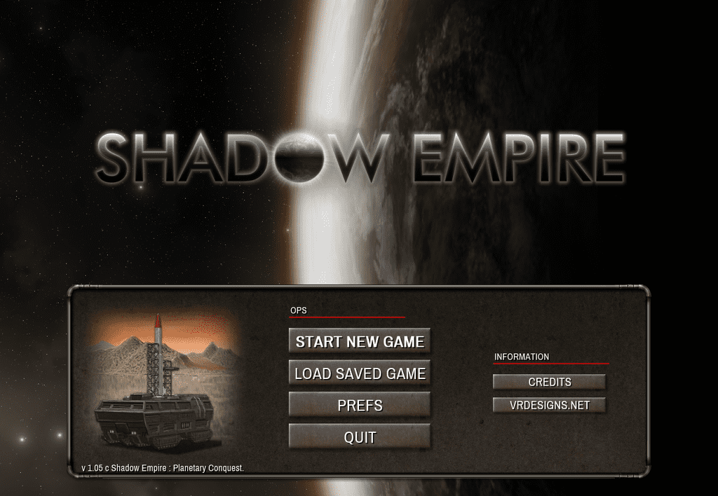 Video Game: Shadow Empire