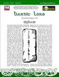 RPG Item: Bardic Lore: Ogham