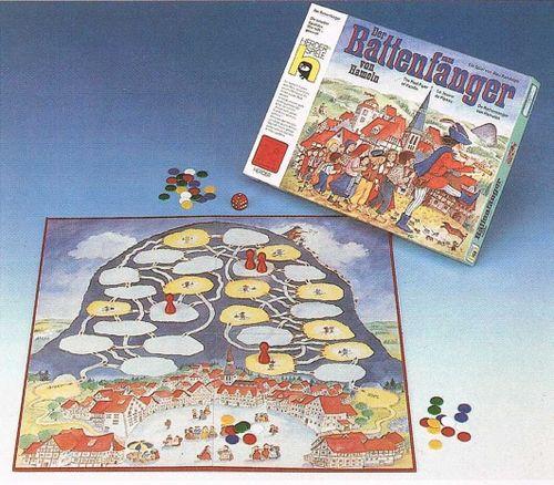 Board Game: Der Rattenfänger von Hameln