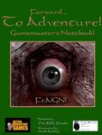 RPG Item: Forward to Adventure! Gamemaster's Notebook!