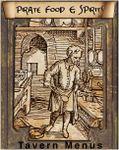 RPG Item: Tavern Menus: Pirate Food and Spirits