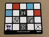 Board Game: Sagrada: Promo 10 – Dice Tower 2020 Window Pattern Card