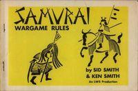 Board Game: Samurai Wargame Rules