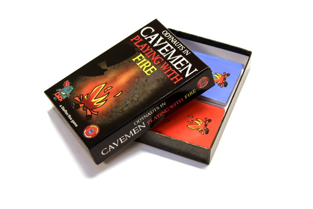 Board Game: Cavemen Playing With Fire