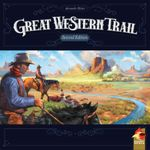 Great Western Trail, eggertspiele, 2021 — front cover, second edition (image provided by the publisher)