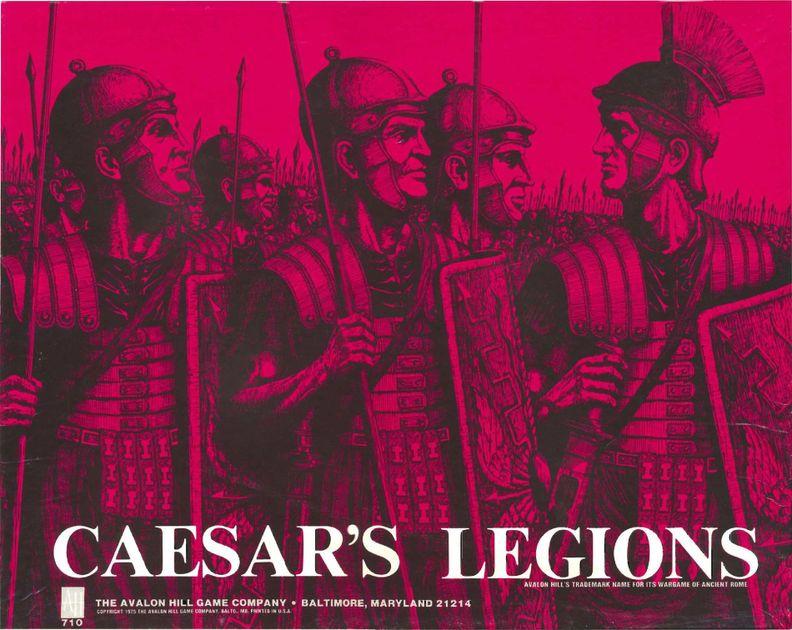 Caesar S Legions Board Game Boardgamegeek