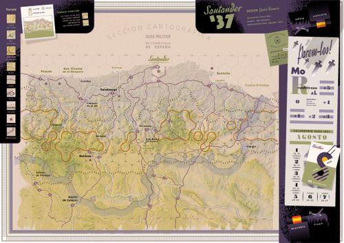 Santander 37 map