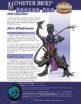 RPG Item: Monster Brief: Dragon Men