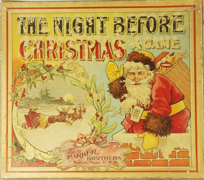 The Night Before Christmas Board Game Boardgamegeek