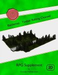 RPG Item: Battlemap: Timber Rafting Channel
