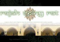 RPG Item: Rajah Spiny Rat