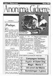 Issue: Anonima Gidierre (Numero 0 - Marzo 1995)