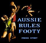 Video Game: Aussie Rules Footy