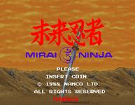 Video Game: Mirai Ninja: Keigumo Kinin Gaiden
