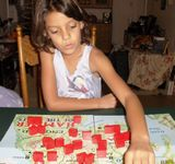 My Daughter and I play a VERY modified version of the game!