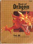 Issue: Best of Dragon Magazine Vol. III
