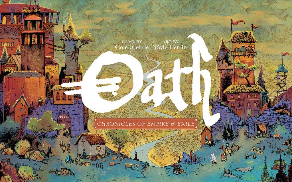 Oath Board Game Box Cover Kickstarter 2020
