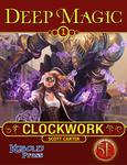 RPG Item: Deep Magic 01: Clockwork