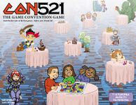 Board Game: CON521: The Game Convention Game